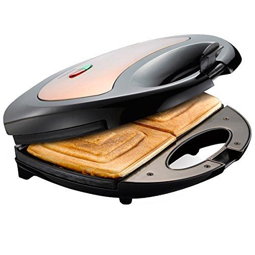 Sandwichmaker Melissa für 2 knusprige Toasts Sandwich-Toaster Sandwich-Grill 750 Watt Limitierte...