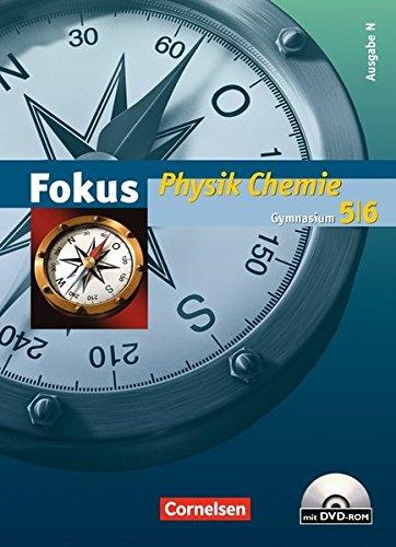 Fokus Physik/Chemie - Gymnasium - Ausgabe N: 5./6. Schuljahr - Schülerbuch mit DVD-ROM