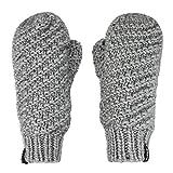 Liying Neu Damen Fäustlinge Handschuhe Strickhandschuhe Fausthandschuhe Geschenk Weihnachten