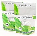 Amlawell Bio Chlorella Tabletten/500g/2000 Presslinge/Bio - DE-ÖKO-039