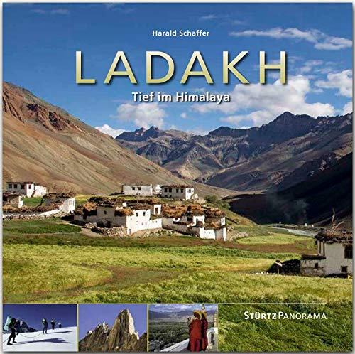 Ladakh - Tief im Himalaya: Ein hochwertiger Fotoband mit über 195 Bildern auf 192 Seiten im quadratischen Großformat - STÜRTZ Verlag (Panorama)