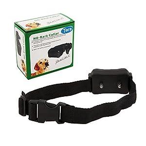 Buynow365 Collier anti-aboiement de chien pour le contrôle des aboiements w / 7 niveaux réglable Contrôle de la Sensibilité, pour 15-120 Pounds Chiens, aucun mal Avertissement Bip et choc