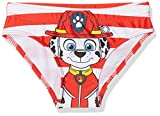 Pat patrouille Jungen Badeanzug Chase, Rot (Red 255), 5 Jahre