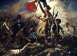 Eugène Delacroix: Die Freiheit führt das Volk, 1830