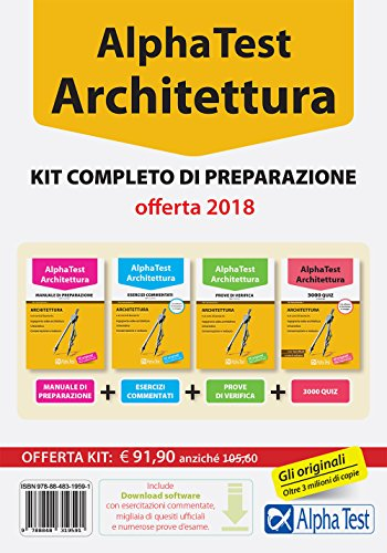 Alpha Test. Architettura. Kit completo di preparazione. Con software di simulazione