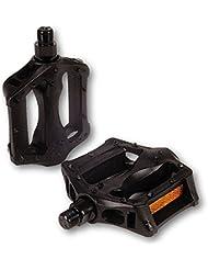 Vp Components 38110 Pedales, BMX, Fibra, Negro