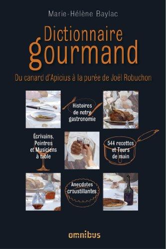 Livre gratuits Dictionnaire gourmand pdf