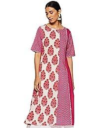 Amazon Brand - Myx Women's A-Line Kurta