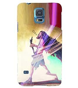 PRINTSHOPPII FUNNY BABA Back Case Cover for Samsung Galaxy S5 G900i::Samsung Galaxy S5 i9600::Samsung Galaxy S5 G900F