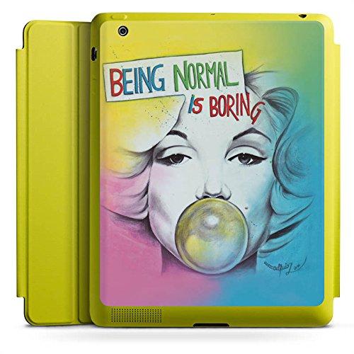 d 4 Smart Case Limette Hülle mit Ständer Schutzhülle Marilyn Monroe Star Sayings ()