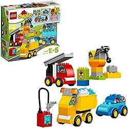 LEGO DUPLO - Mes premiers véhicules - 10816 - Jeu de construction