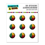 Drapeau du Bénin Soccer Ball Futbol Football Home Button Stickers pour Apple iPhone...