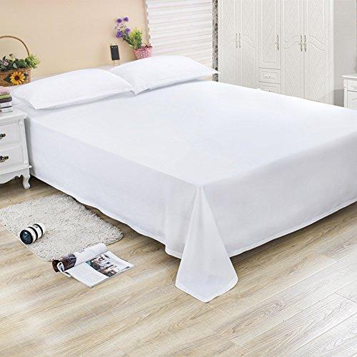 Blatt einzelnes stück/student hostel bettwäsche/pure color grinding wolle tagesdecke doppelbett-E 240x260cm(94x102inch) (Multi-stück-bettwäsche)