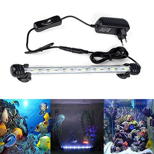 Lights & Lighting Discreet Strengthen Ip68 Waterproof Led Aquarium Light 5050smd Led Aquarium Submersible Light Lamp For Fish Tank Pool 28cm With Sucker Dependable Performance