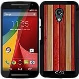Hülle für Motorola Moto G (Generation 2) - Holz by Warp9