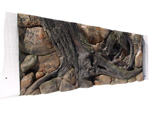 Aquarium Rückwand 3D Amazonas 120x60 bei Robizoo