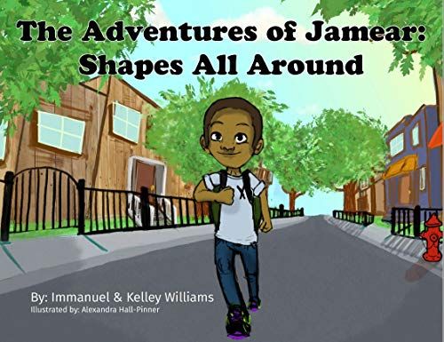 The Adventures of Jamear: Shapes All Around (English Edition)