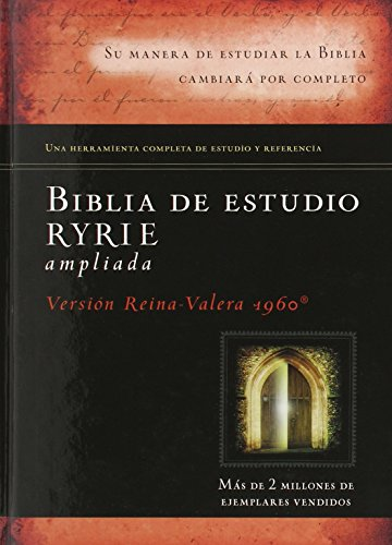 Biblia De Estudio Ryrie Ampliada Spanish Edition