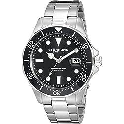 Stuhrling Original Men's 824.01 Regatta Analog Japanese Quartz Stainless Steel Watch