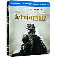 LE ROI ARTHUR : LA LEGENDE D'EXCALIBUR EDITION STEELBOOK LIMITEE - BLURAY 3D + 2D + 4K