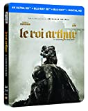 LE ROI ARTHUR : LA LEGENDE D'EXCALIBUR EDITION STEELBOOK LIMITEE - BLURAY 3D + 2D + 4K [4K Ultra HD + Blu-ray 3D + Blu-ray + Digital HD - Édition boîtier SteelBook]