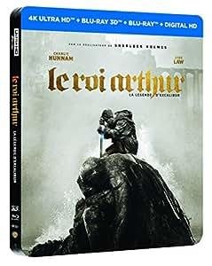 LE ROI ARTHUR : LA LEGENDE D'EXCALIBUR EDITION STEELBOOK LIMITEE - BLURAY 3D + 2D + 4K [4K Ultra HD + Blu-ray 3D + Blu-ray + Digital HD - Édition boîtier SteelBook]