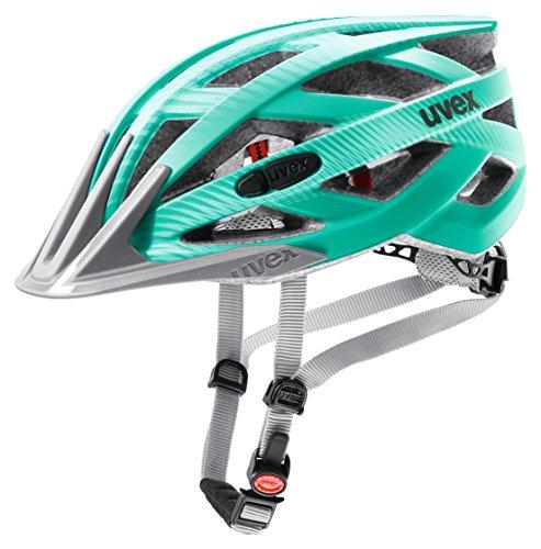 Uvex Erwachsene Fahrradhelm I-VO CC, Grün (Green-Teal Mat), 56-60 cm