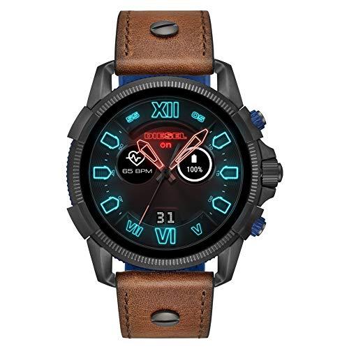 Diesel Herren-Smartwatch mit Leder Armband DZT2009 -