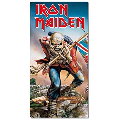 Iron Maiden-Asciugamano da bagno telo da mare-Trooper-75x 150cm