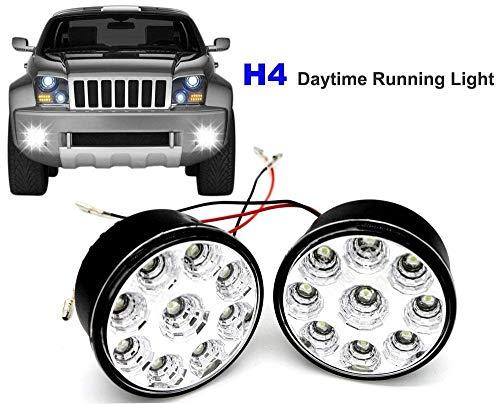Luces LED de circulación diurna redondas de 70 mm con interruptor automático...
