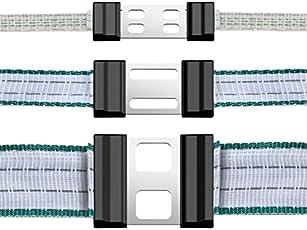Bandverbinder Litzclip® für 12,5 mm Bänder (5er Blister), Edelstahl