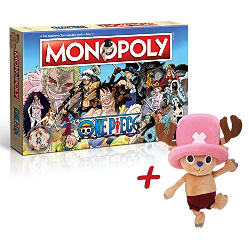 One Piece Monopoly Plüschfigur (30cm) (Chopper Plüschfigur)