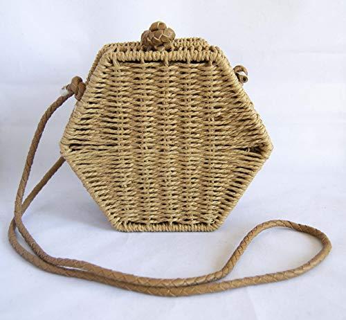 Handtasche braun 15 x 12 cm. Kostenloser Versand Sanchez Tasche