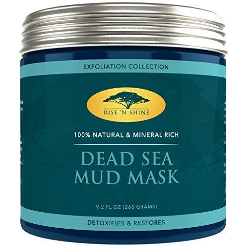 (9,2oz) barro del Mar Muerto Máscara para cara y cuerpo–100% natural Spa...