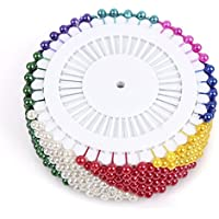 SODIAL(R) 480 Artificiel Chapelet Conducteur Adaptation Mariage Decoration Epingle Artisanat (multicolore)