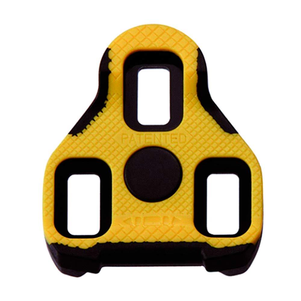 Exustar E-BLK 11+ Schuhplatten-Set, Fixe Positionierung, gelb