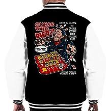 Guess Who Died Negan Walking Dead Men's Varsity Jacket