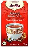 3er Pack Yogi Tee BIO Abendtee Rooibos Vanille,17 Btl. à 1,8g (frachtfreie Lieferung innerhalb Deutschlands ab 20 EUR Einkaufswert) (3)