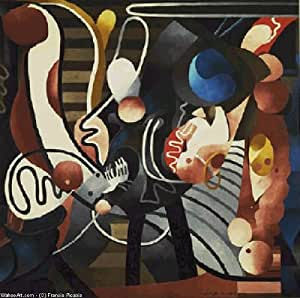Reproduction 60 x 70 cm - Francis Picabia - Comic Wedlock, 1914 -