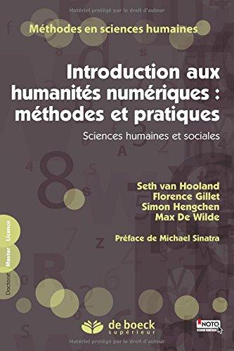 Introduction aux humanités numériques : méthodes et pratiques