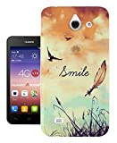 187 - Cute Birds And Sky Smile Fun Design Huawei Ascend