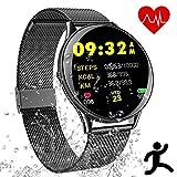 Smartwatch Deportes Impermeable - Reloj Inteligente con Corriendo Pulsómetro Cronómetro...