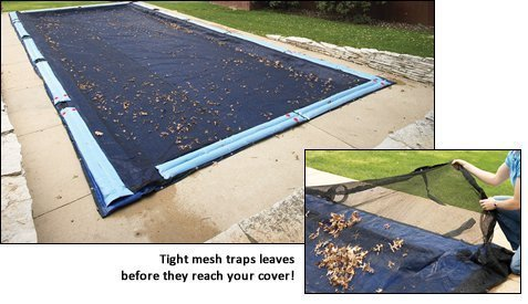 16' x 32' In Ground Swimming Pool Leaf Net 4 Year Limited Warranty by Arctic Armor (16' X Pool 32')