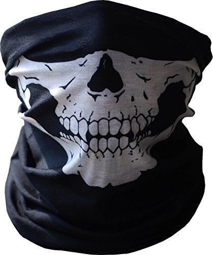 Mann Minute Kostüm (Meta-U 2 Stücke Schädel drucken Multifunktions Kopfbedeckungen)