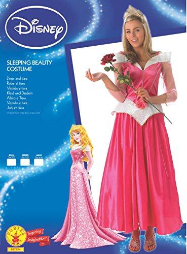 Rubie 's–Disfraz de Bella Durmiente Disney Princess, adultos oficial–TAMAÑO MEDIANO