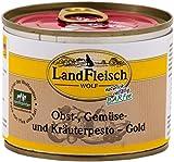 Landfleisch Wolf Pesto Gold Obst-, Gemüse- und Kräuterpesto 200g Dose Hundefutter