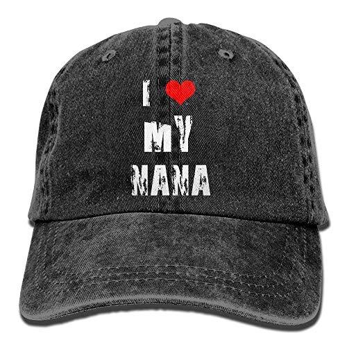0808dbbc282 Rbfqfm Love My Nana Denim Baseball Hat Adjustable Sport Hats