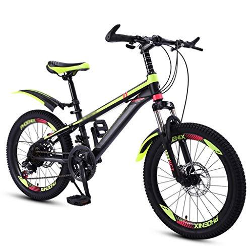 Xiaotian Kinderfahrrad 20 Zoll Jungen Kinderwagen 6-10-15 Jahre altes Kind Fahrrad Grundschüler Geschwindigkeit Mountainbike,B