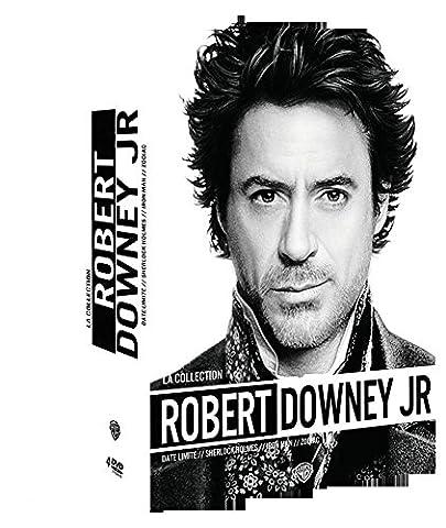 La Collection Robert Downey Jr. - Date limite + Sherlock Holmes + Iron Man + Zodiac (Sherlock Holmes Films Robert Downey Jr)