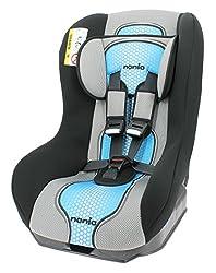 Nania Kinderautositz Kindersitz Maxim pop ECE Gruppe 0 / 1 ab Geburt bis 18 kg bis 10kg reboard nutzbar blau